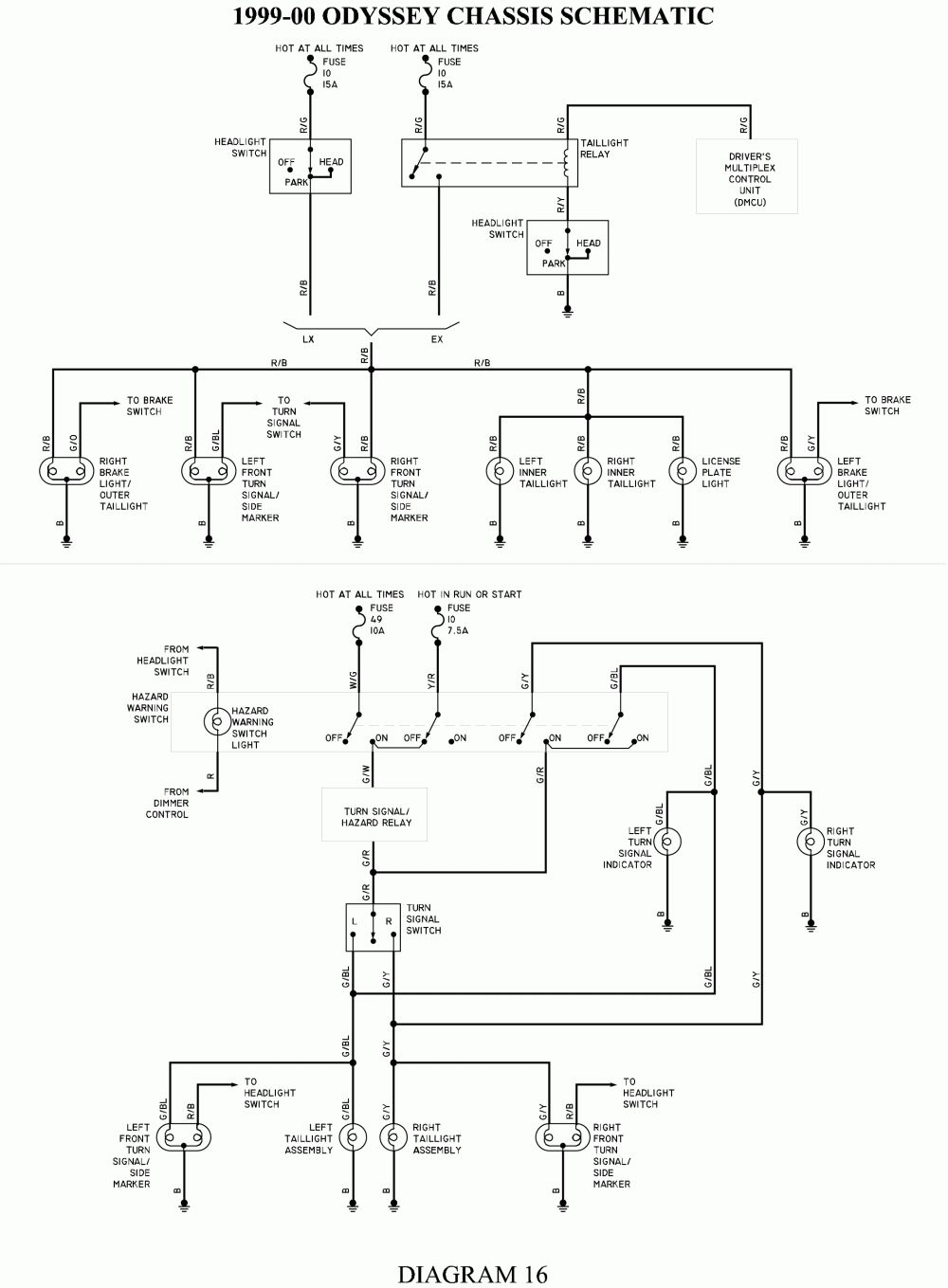 1993 Honda Accord Headlight Wiring Diagram Homelite 360 Chainsaw Parts 2003 Turn Signal All Data Library Pilot