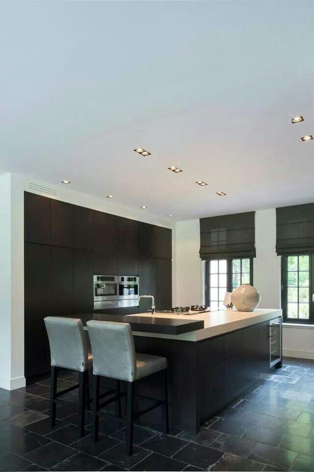 eiken fineer keuken pinterest k che moderne k che und einrichten und wohnen. Black Bedroom Furniture Sets. Home Design Ideas