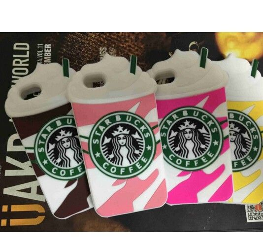3D Cute Coffee Cups Soft Silicon Cases Covers Skins For Apple IPhone 5C 5G 5S 6 6s Plus