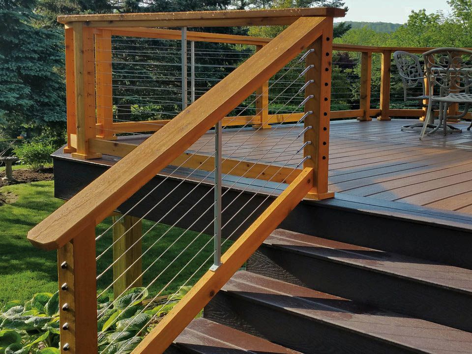 Different Front Porch Stair Railing Ideas Only On This Page Outdoor Stair Railing Railings Outdoor Exterior Stair Railing
