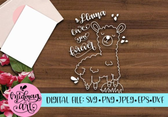 Download Llama Love You Forever (Graphic) by OneStoneGraphics ...