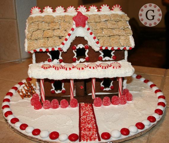 story inn gingerbread house template by gingerbreadcutterco also christmas pinterest rh