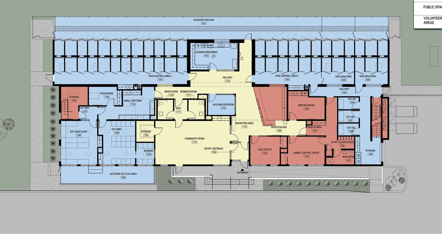 Animal shelter building plans google search animal Shelter house plans