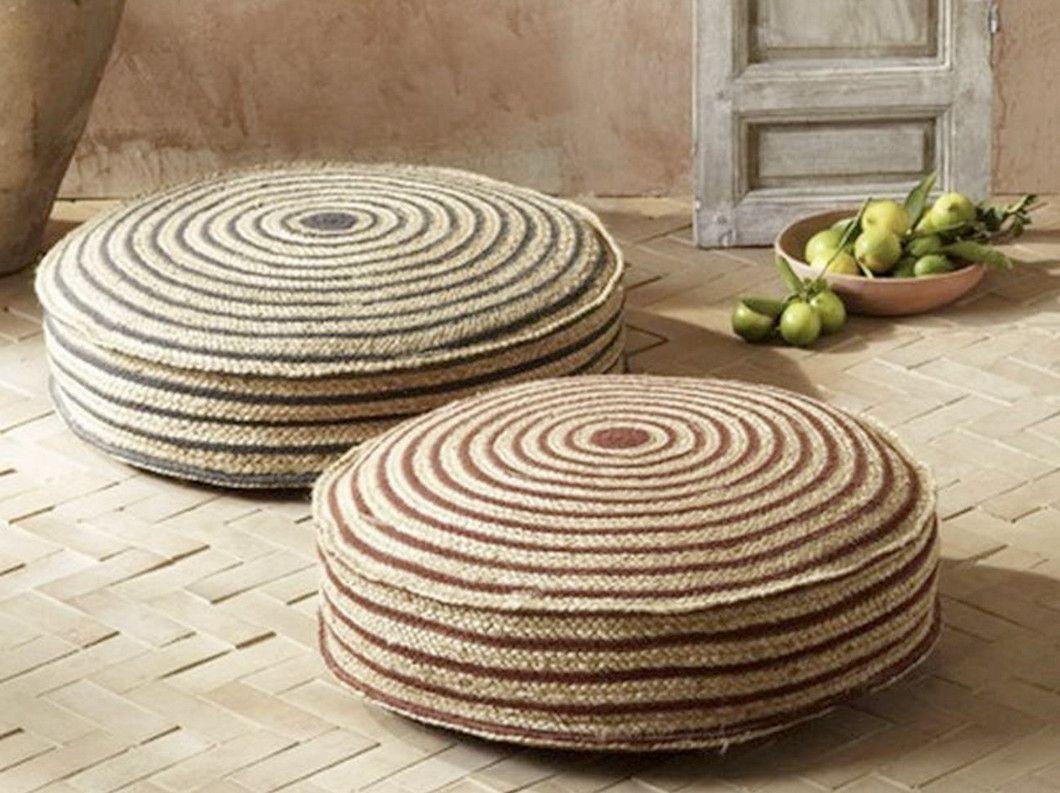 Large Round Floor Cushion