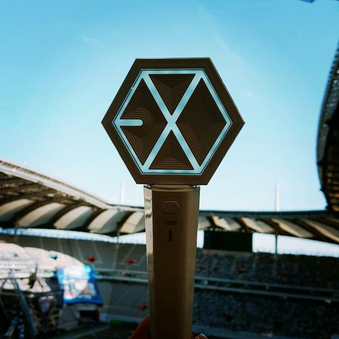 170603 dream concert in seoul  exo  lightstick  dreamconcert  exolightstick
