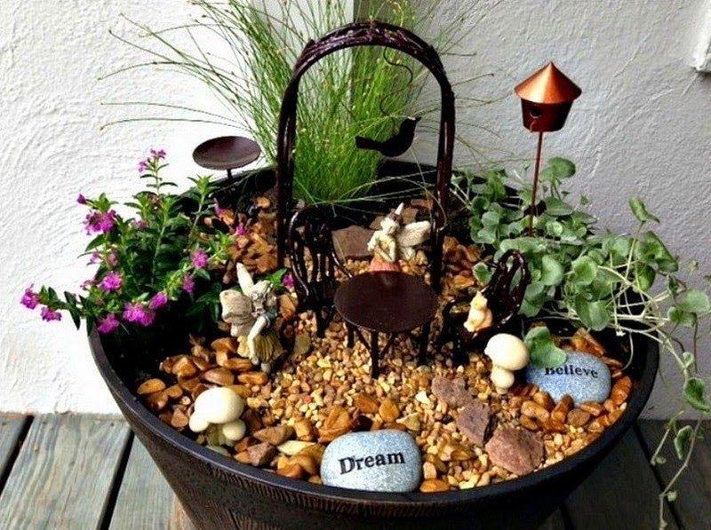 Siempre estamos buscando ideas para decorar nuestro jard n - Ideas para decorar jardines ...
