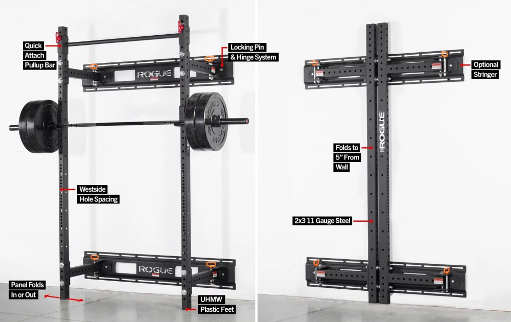 Rogue Fold Back Wall Mount Rack Review