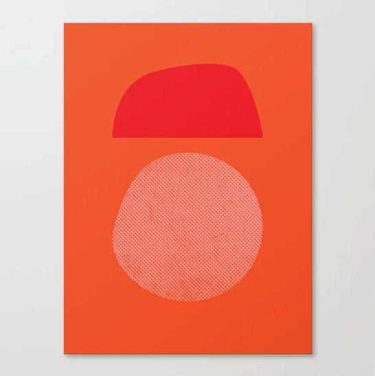 """BOULDER"" Canvas Print by Matthew Korbel-Bowers on Society6 | Society6 thumbnail"