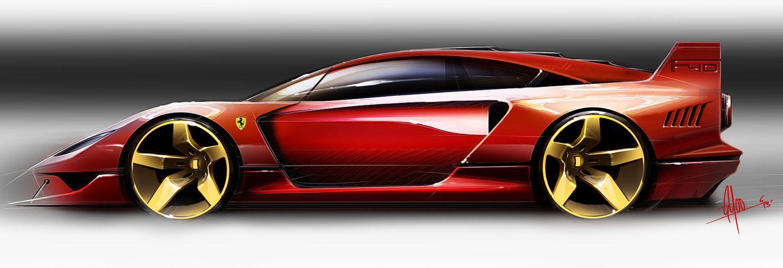 f40 copyjpg Ferrari Concept Cars Pinterest Ferrari, Auto - copy car blueprint website