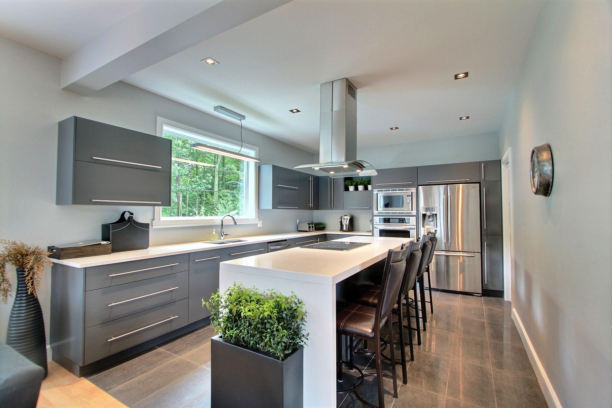 cuisine contemporaine d co cuisine pinterest. Black Bedroom Furniture Sets. Home Design Ideas