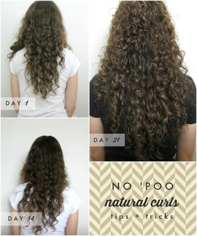 Curly Haired Girl S Testimonial To No Poo Shampoo For Curly