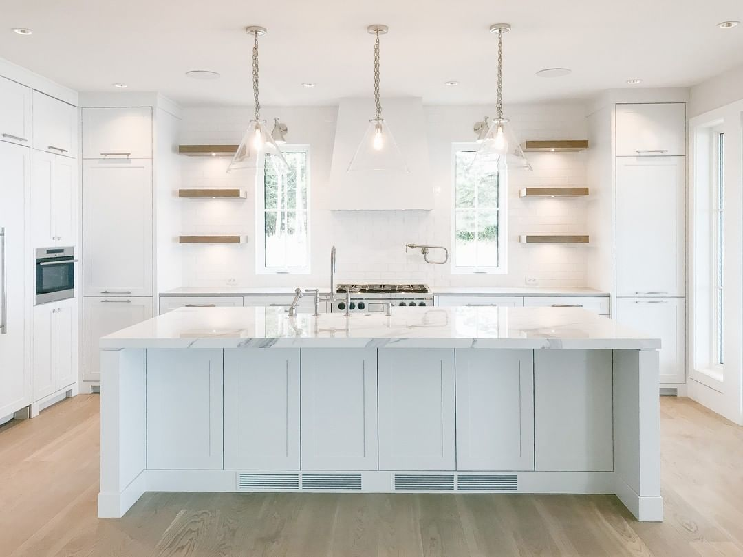 Yesterday We Showed You The Qualicum Beach Living Room In All Its Goodness And Today We Show You The Kitchen The Balance They Symmetry I 2020