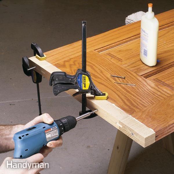 Lengthening an Interior Wood Door | Interior door, Wood grain and Doors