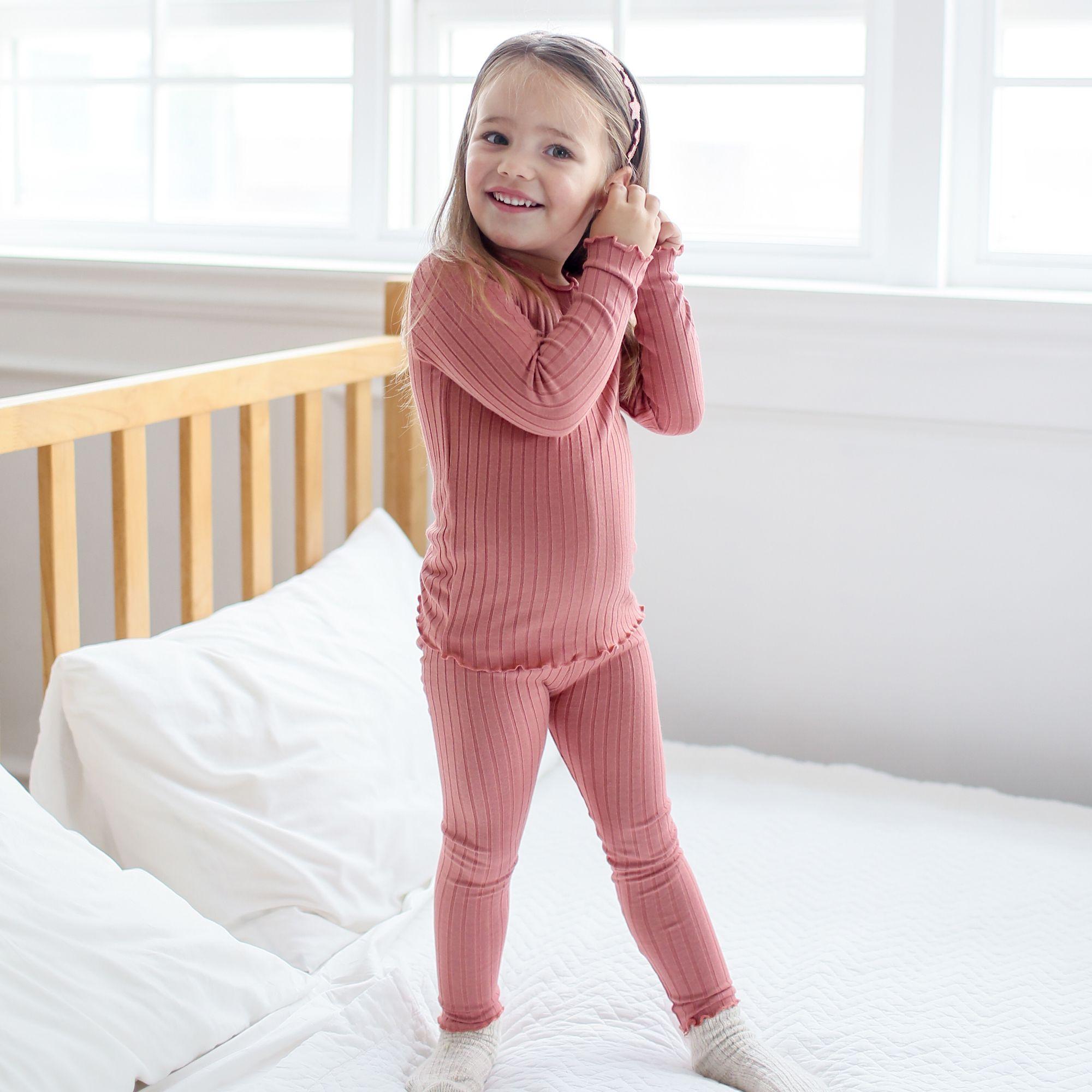 "Vaenait Baby Toddler Kids Girls Clothes Pajama Set /""Candy Blue Mango /"" 12M-7T"