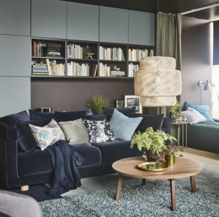 comment cr er un salon cocooning et cosy en 2018 d co pinterest moelleux table basse et ikea. Black Bedroom Furniture Sets. Home Design Ideas