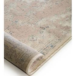 benuta Teppich Elia Braun/Taupe 240×340 cm – Vintage Teppich im Used-Look benuta