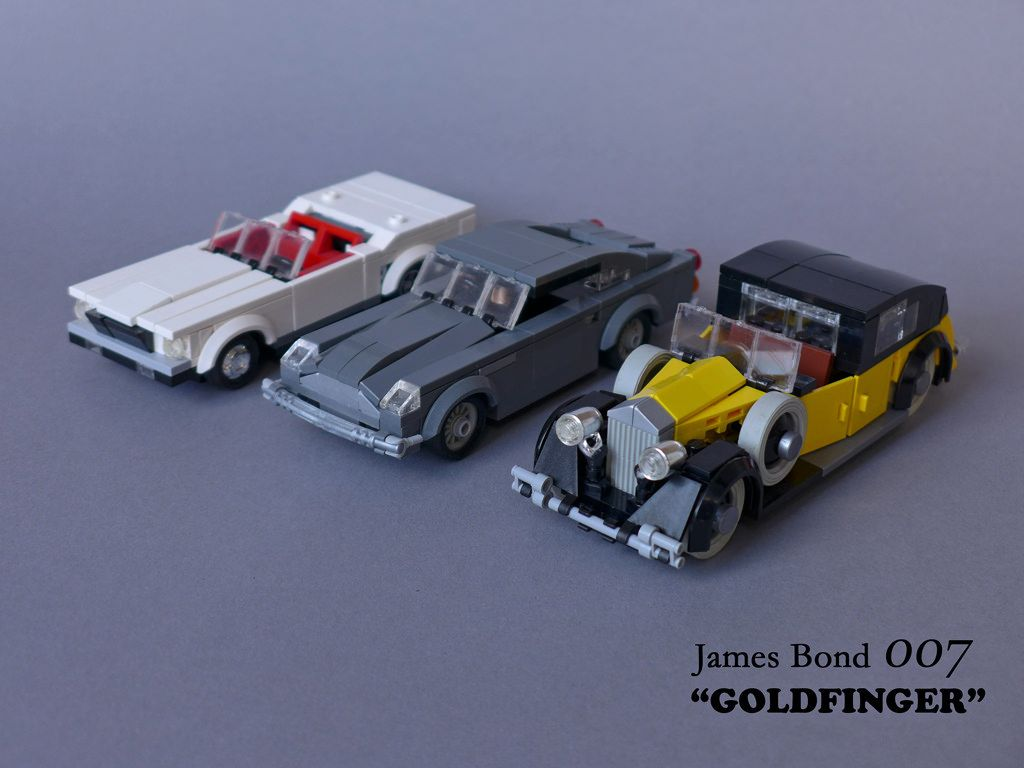 "james bond 007 ""goldfinger"" - movie cars 