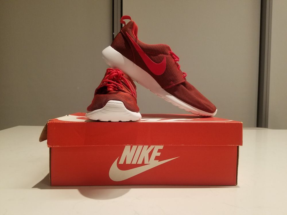 084f76ee41f4 Nike Roshe One Premium Running Shoe Size US 12 In University Red  fashion   clothing  shoes  accessories  mensshoes  athleticshoes (ebay link)