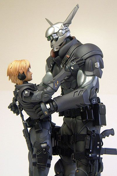 Appleseed Deunan Knute And Briareos Hecatonchires Action Figure Another Pop Culture Collectible Review By Michael Apple Seeds Japanimation Ghost In The Shell