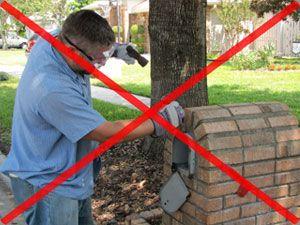 Snap In Replacement Mailbox Door Installs In 5 Minutes No