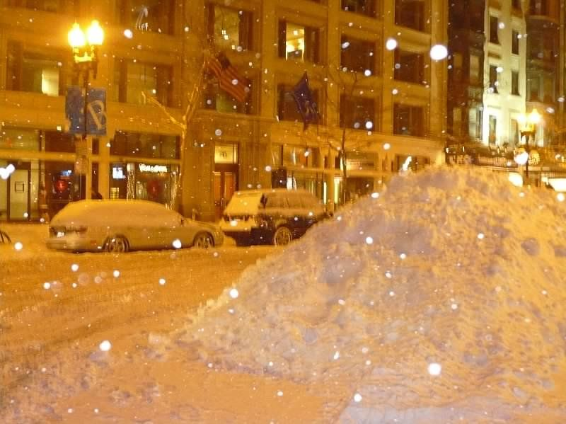 How Much Snow Are We Supposed To Get In Boston
