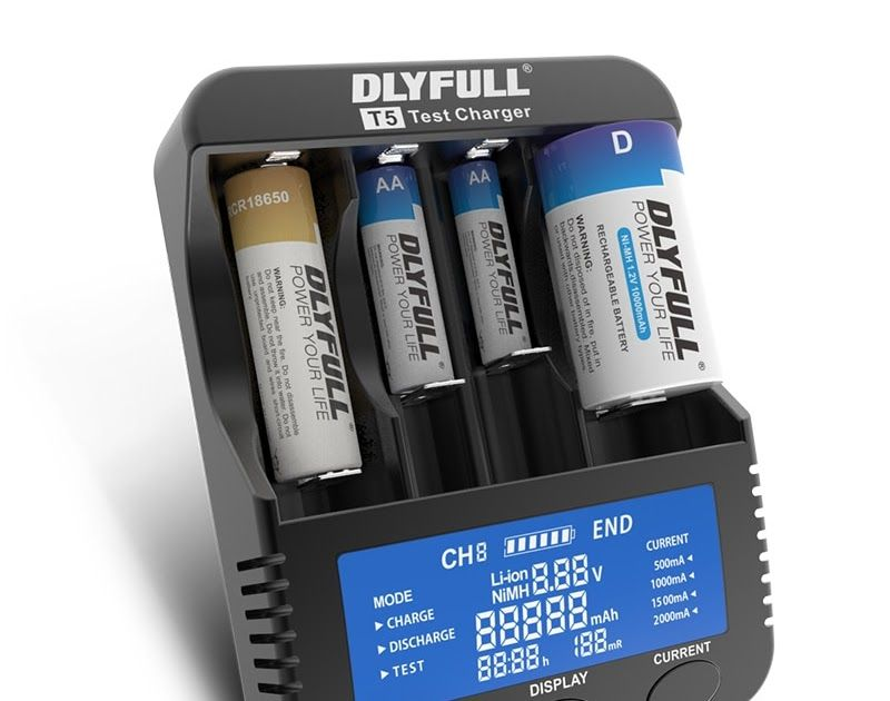 Discount This Month Dlyfull T1 T4 T5 1 2v Aa Aaa Aaaa Nimh Lithium Battery Charger Lcd 3 7v 18650 18350 163 Lithium Battery Charger Nimh Rechargeable Batteries