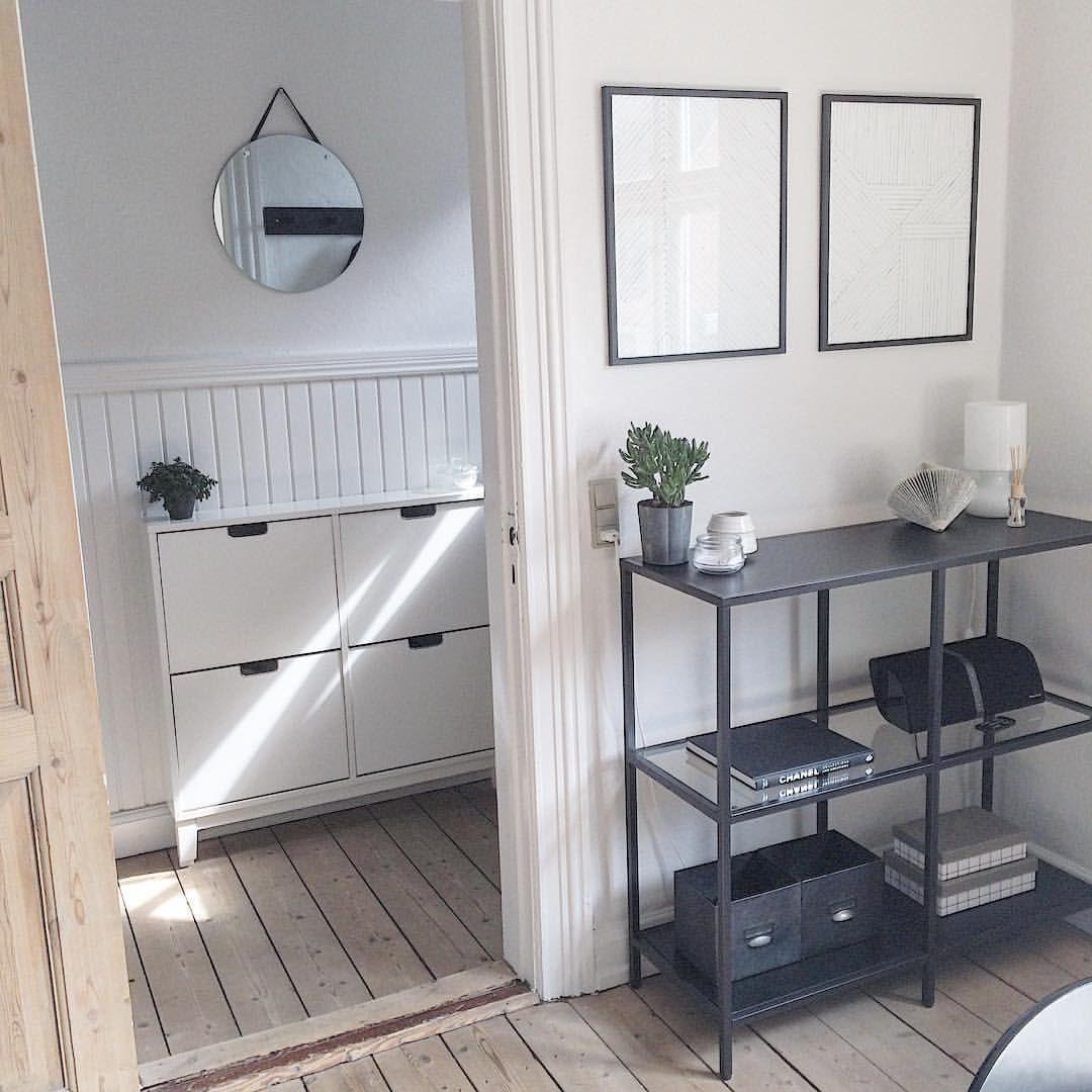 office shelves ikea. Ikea \u0027Ställ\u0027 Cabinet \u0026 \u0027Vittsjö\u0027 Shelf @camillasorensen_ Office Shelves I