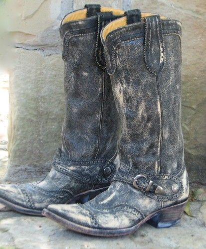 a89159be1ac Details about WOMEN'S $512 OLD GRINGO PISA DISTRESSED CHARCOAL BLACK ...