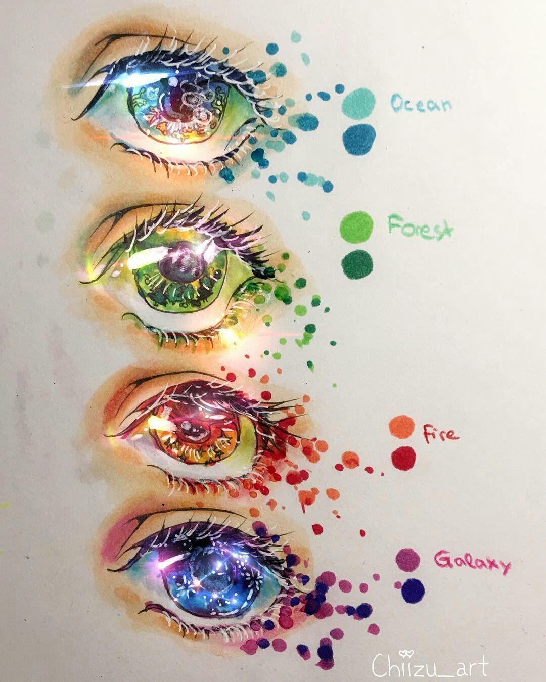 Pin By Zera On Art And Tips Copic Marker Art Marker Art Eye Art