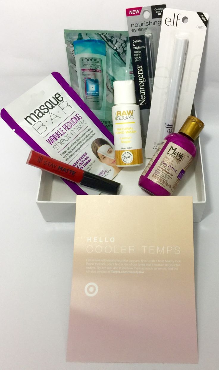 Target Monthly Box: October 2017 Target Beauty Box Review
