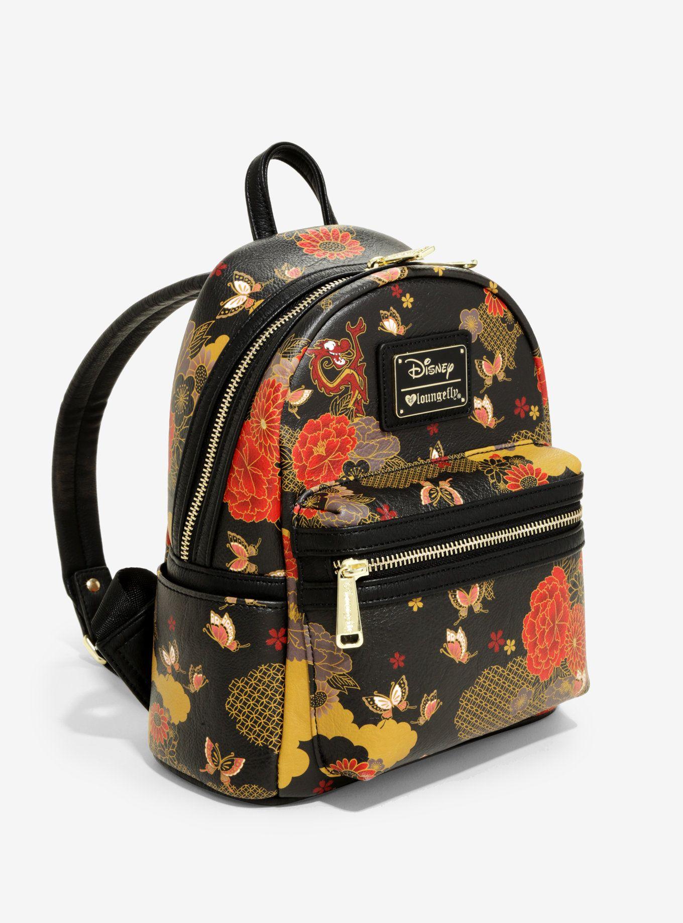 6568127d38b Loungefly Disney Mulan Mushu Mini Backpack