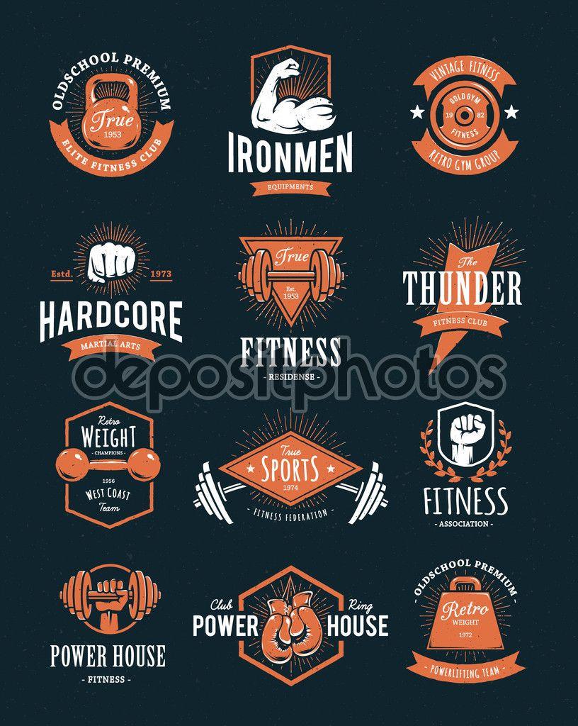 130 fitness logo ideas design inspiration for gym studios
