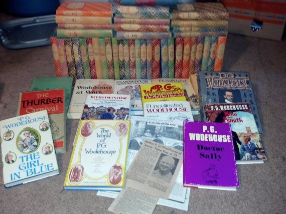 PG Wodehouse Collection and Obituary by GiniasGems on Etsy, $5500.00