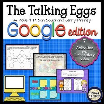The Talking Eggs ~ Google Apps Edition | Activities, Book ...