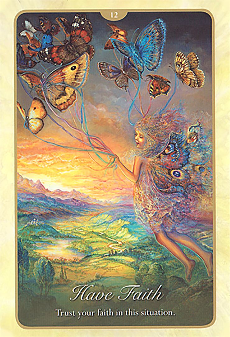 12 Have Faith 2 Oracle Cards Whispers Of Love Par Josephine Wall And Angela Hartfield Angel Tarot Cards Oracle Cards Love Oracle