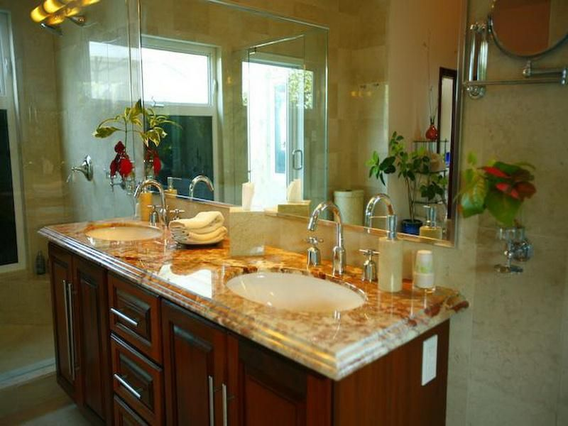 Ideas For Decorating A Bathroom bathroom countertops decorating ideas | ideas | pinterest