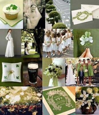 May The Luck of The Irish Bless Your Wedding