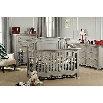Munire Brunswick 4-in-1 Convertible Crib in Ash Grey