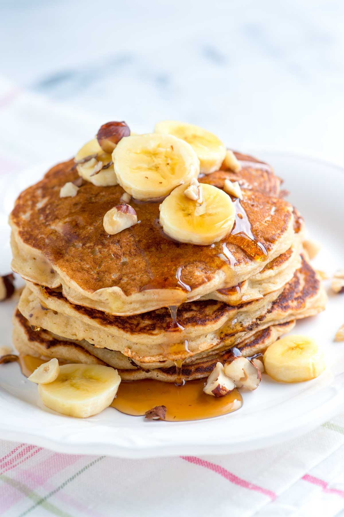 How To Make Spiced Buttermilk Banana Pancakes Banana Pancakes Recipe Pancake Recipe Buttermilk Banana Pancakes