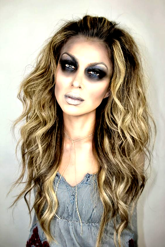 30 Pretty Ghost Makeup Ideas For In 2020 Halloween Haar Halloween Halloween Make Up Ideen