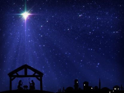 Christmas Star Manger Bethlehem Motion 1 Vertical Hold Media - christmas powerpoint template