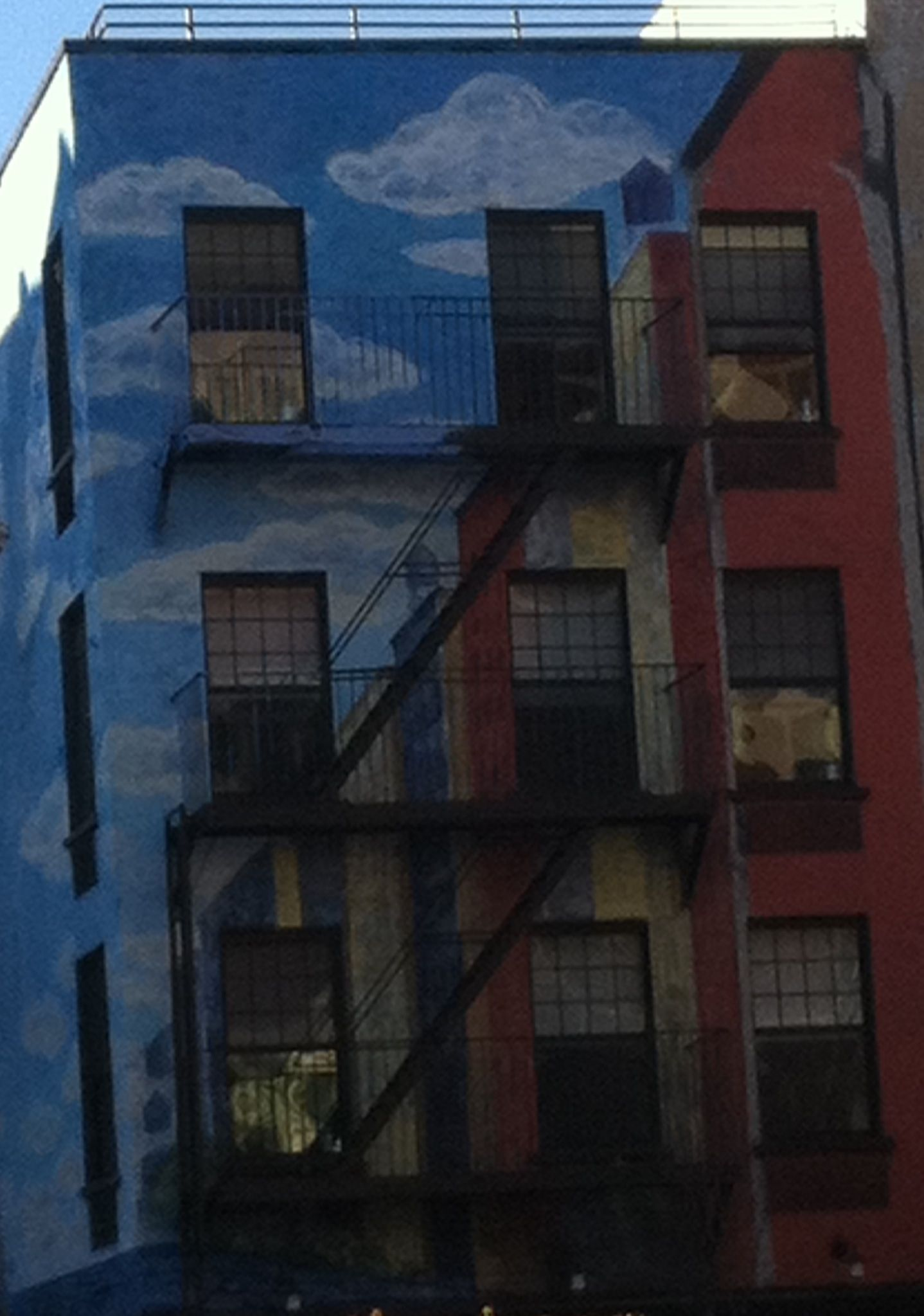 NYC building- Lower East Side Art