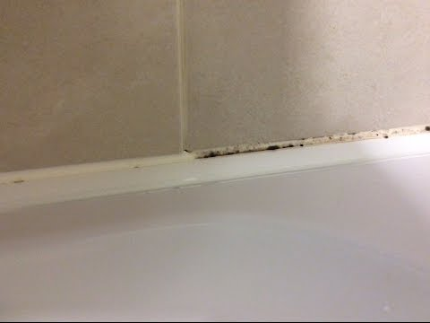 How To Remove Mold From Silicone Sealant In Bathroom