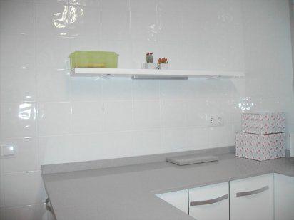 Cocina Blanca Brillo Azulejos Blanco Mate Vs Brillo Cocina