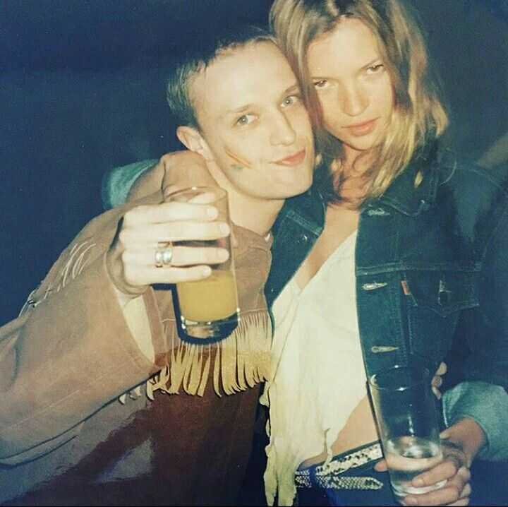 Kate Moss & Ronnie Wood´s 50th Birthday Party 1997   #KateMoss