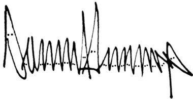 """Némethi Gábor on Twitter: """"Trump aláírása olyan mint egy valag KKK-tag egymás mellett. https://t.co/bna5ju2OHk"""""""