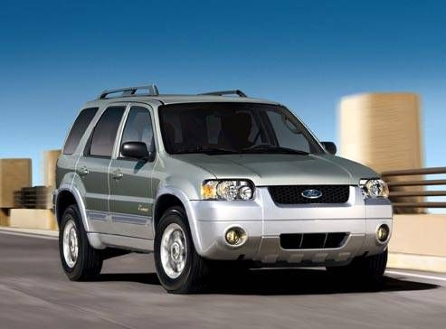 2007 Ford Escape Hybrid Hybrid Version Of The Ford Escape Made