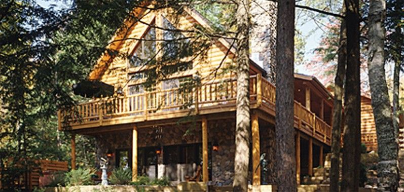 Nicolet   Log Homes, Cabins And Log Home Floor Plans   Wisconsin Log Homes