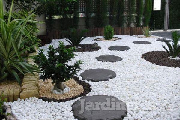 Jardines con piedra buscar con google jardines con for Piedras decorativas jardin
