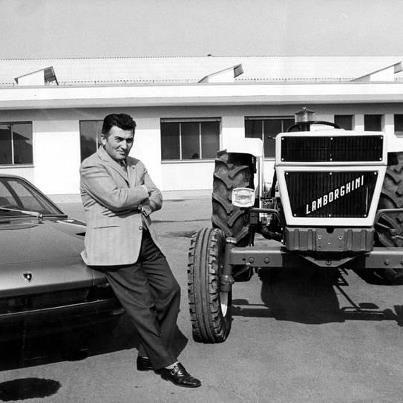 Lamborghini Cars Were Only Created Because The Lamborghini Tractor